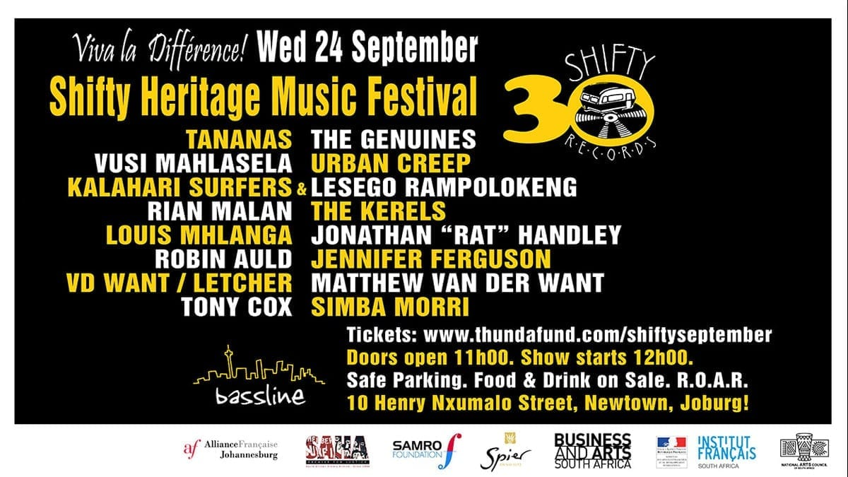 Shifty Heritage Music Festival